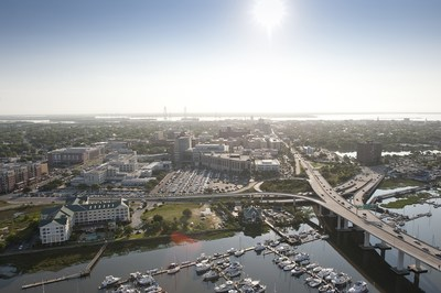 The Medical University of South Carolina sits on the Charleston peninsula. While the current economic impact study exclusively addresses the Charleston metro area, the institution has further economic impact throughout South Carolina via numerous outreach and training locations.