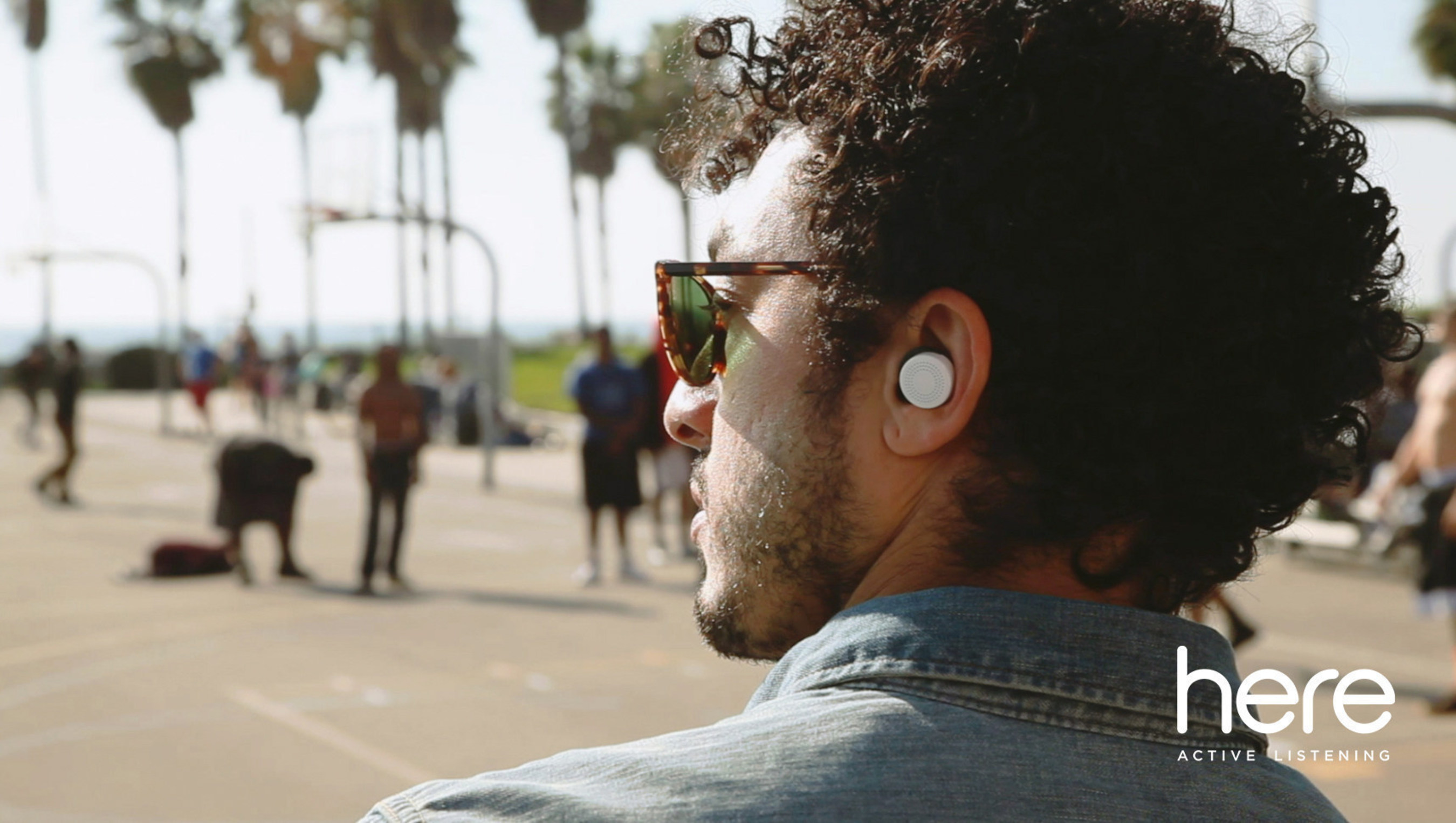 The Here Active Listening System(TM) is the first in-ear system designed to let you instantly control and personalize your live audio environment.
