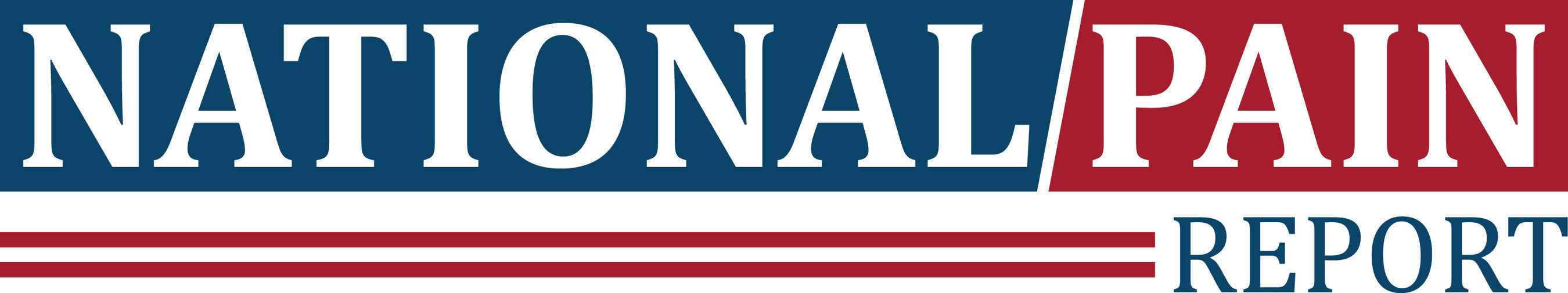 National Pain Report logo (PRNewsFoto/National Pain Report)
