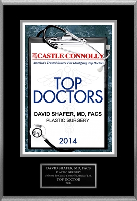 Dr. David Shafer is recognized among Castle Connolly's Top Doctors (R) for New York, NY region in 2014. (PRNewsFoto/American Registry) (PRNewsFoto/American Registry)