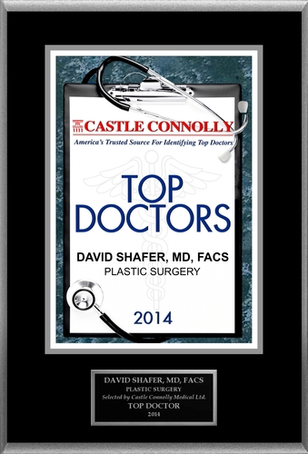 Dr. David Shafer is recognized among Castle Connolly's Top Doctors (R) for New York, NY region in 2014.  (PRNewsFoto/American Registry)