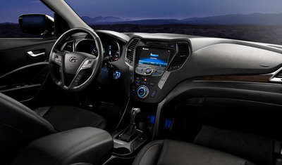 2013 Hyundai Santa Fe Sport Named One Of Ward's 10 Best Interiors.  (PRNewsFoto/Hyundai Motor America)
