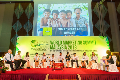 Youth Parliament.  (PRNewsFoto/World Marketing Summit Malaysia 2013)