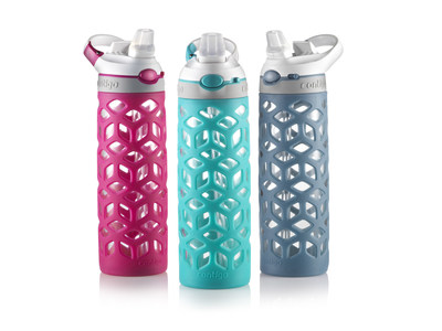 Contigo(R) Introduces New AUTOSPOUT(R) Glass Water Bottle: Glass That Goes Anywhere