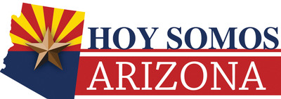 "Latino media outlets announce plans for unprecedented 30-minute program on U.S. Supreme Court ruling on SB 1070. ""Hoy Somos Arizona"" coalition of 23 media outlets to roadblock regularly scheduled programming and air simultaneously on dozens of TV and radio outlets in Arizona and nationwide.  (PRNewsFoto/Hoy Somos Arizona)"