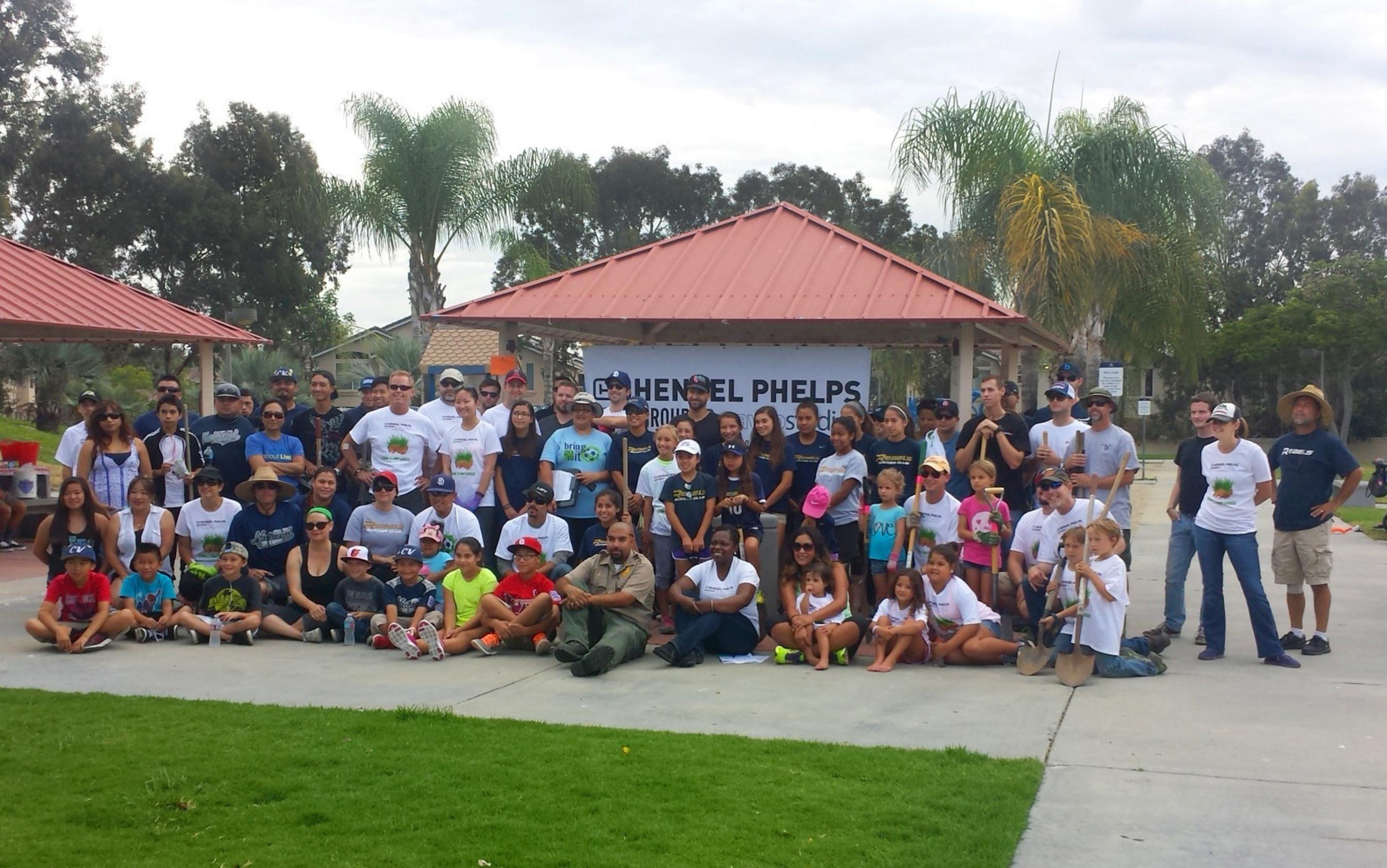 "City of Chula Vista Voyager Park Community Event: Team ""Clump Grass"""