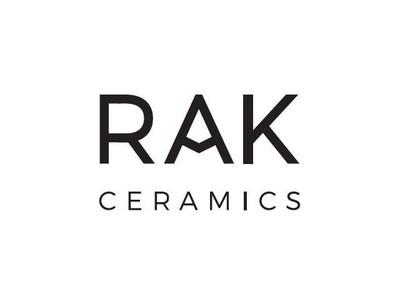 The new logo of Rak Ceramics revealed at Cersaie (PRNewsFoto/RAK Ceramics)