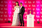 Chinese Celebrity Fan Bingbing with Robert Best, Chief Designer for Barbie Special Line to Celebrate the Launch of Her Own Celebrity Doll in Shanghai (PRNewsFoto/Mattel China)