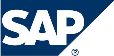 SAP logo. (PRNewsFoto)