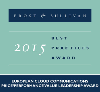 Centile Receives 2015 European Cloud Communications Price/Performance Value Leadership Award