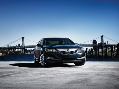 2016 Acura RLX Adds AcuraWatch(TM) and Other Enhancements to Elevate Premium Sophistication and Value