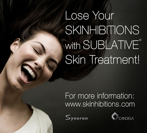 Lose Your SKINHIBITIONS with SUBLATIVE(R) Skin Treatment!  (PRNewsFoto/Syneron Medical Ltd.)