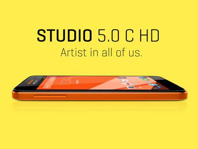 Studio 5.0 C HD (PRNewsFoto/BLU Products)