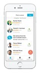 Avvo app with searchable lawyer profiles by location, practice area, consumer rating