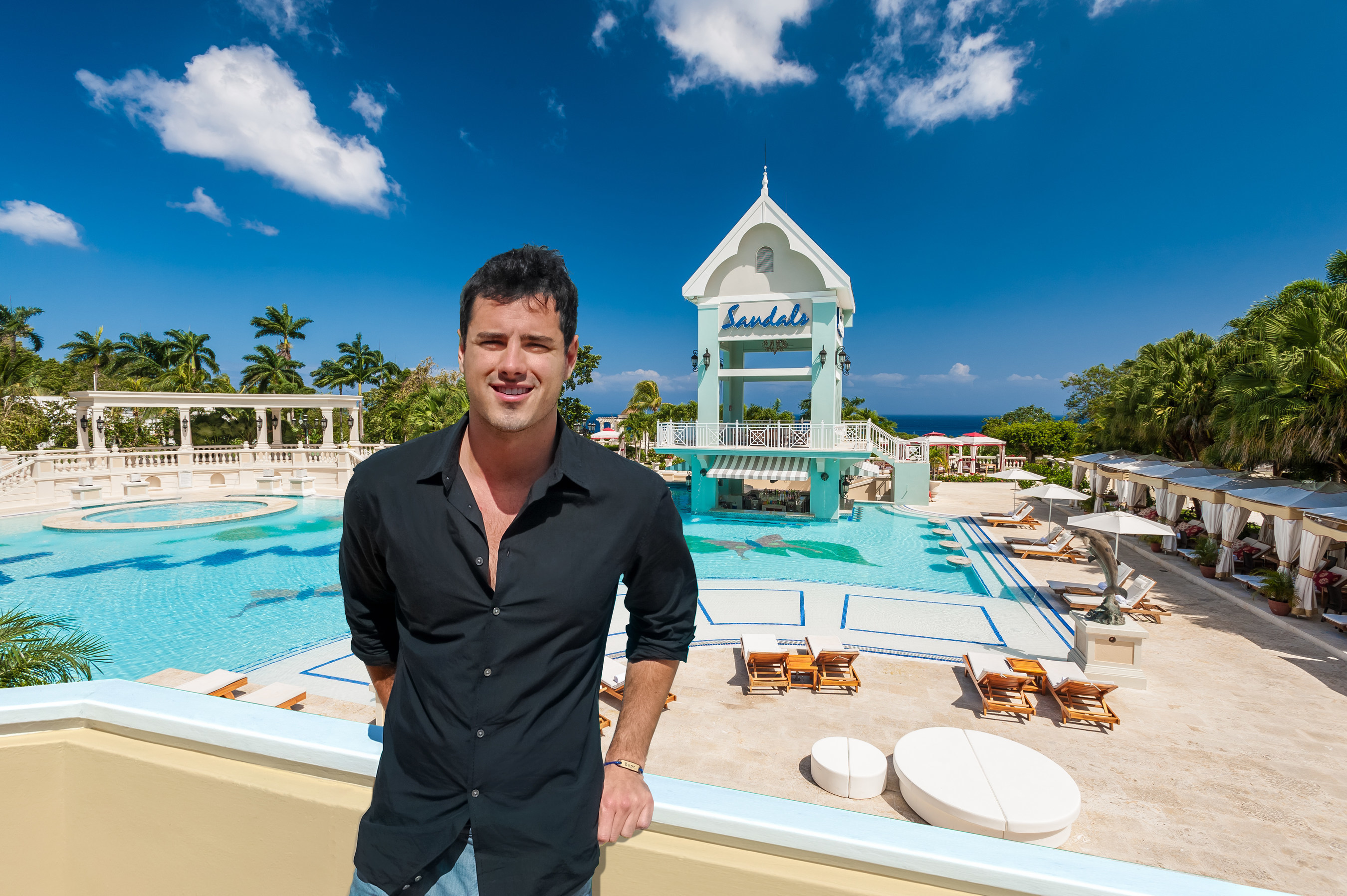 Season 20's final two episodes of ABC's The Bachelor will feature three unique resorts in Jamaica owned by Sandals Resorts International - Sandals Ochi Beach Resort, Sandals Royal Plantation and Rio Chico by Sandals Resorts - as the backdrops for the Bachelor, Ben Higgins, and his final three ladies as their journey comes to an end.