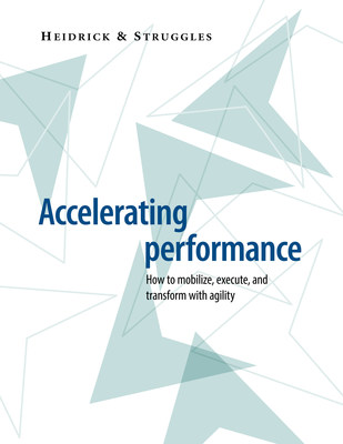 Heidrick & Struggles Issues New Thought Leadership - Accelerating Performance