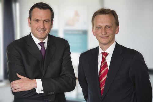 Andreas Evertz (right) succeeds Dr. Jochen Weyrauch at Schenck Process. (PRNewsFoto/Schenck Process GmbH)