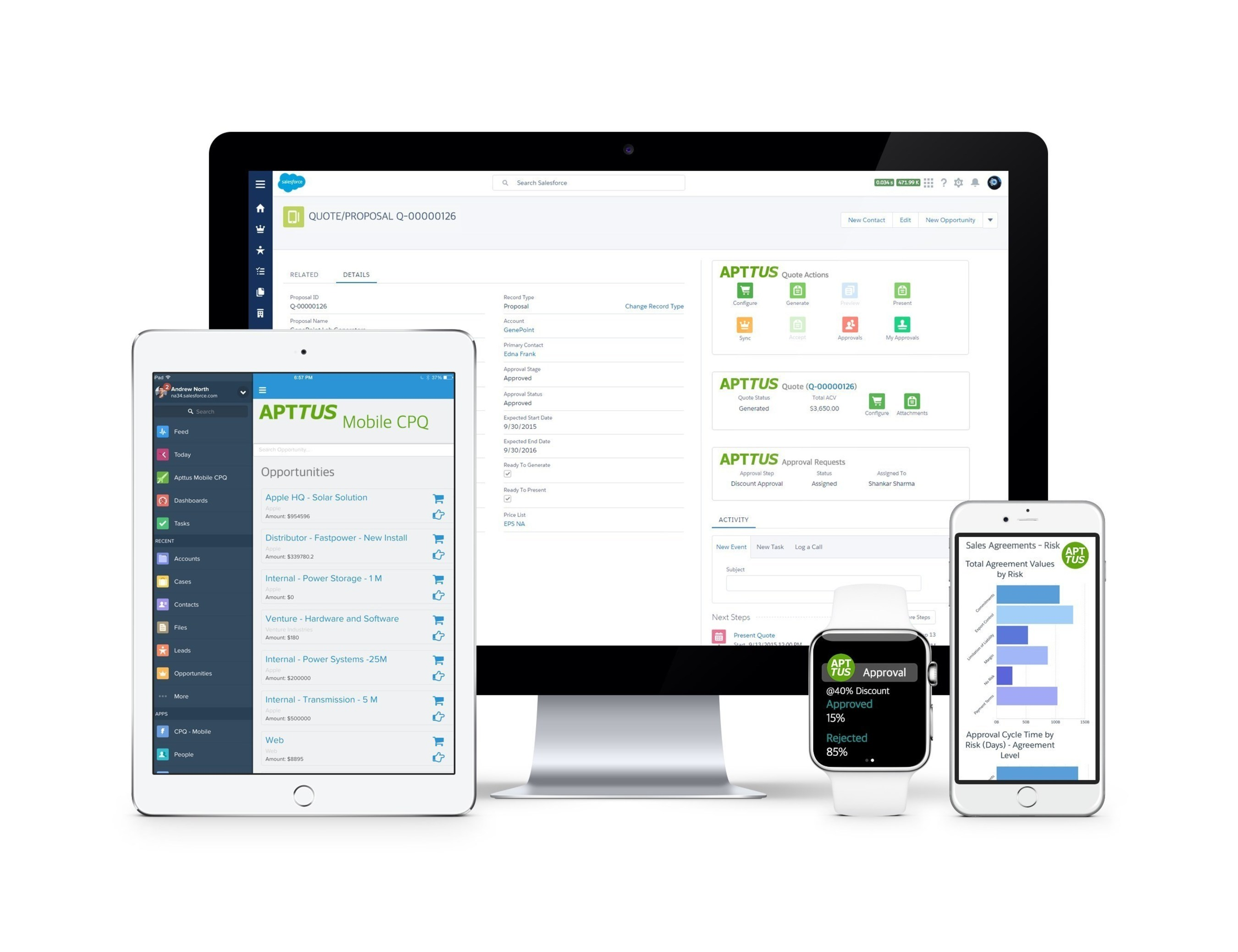 Apttus Takes Quote-to-Cash to the Next Level, Setting the Pace for the Modern Sales Cycle