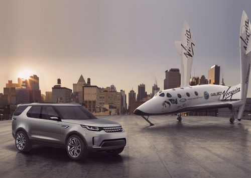 Land Rover today revealed its Discovery Vision Concept SUV in New York