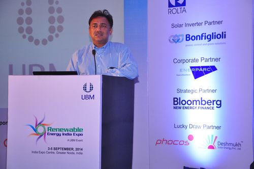 Inauguration at Renewable Energy India 2014 (PRNewsFoto/UBM India)