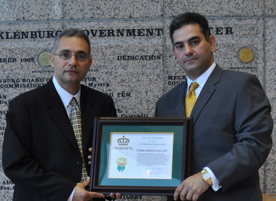 Prodigy Receives Proclamation for Excellence in Business Development from the City of Charlotte