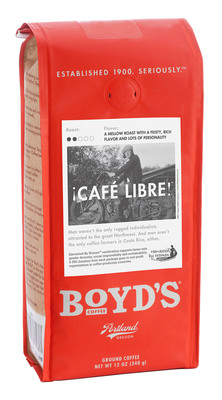 Boyd's Coffee® Becomes First U.S. Roaster To Launch Harvested By Women™ Certified Coffee