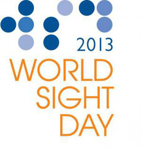 Logo for World Sight Day 2013.  (PRNewsFoto/Stanton Optical)