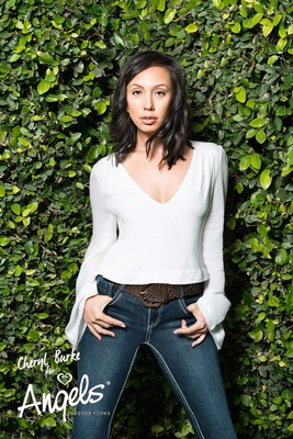 """""""DANCING WITH THE STARS"""" CHAMPION CHERYL BURKE JOINS ANGELS FOREVER YOUNG AS FIRST-EVER BRAND AMBASSADOR"""