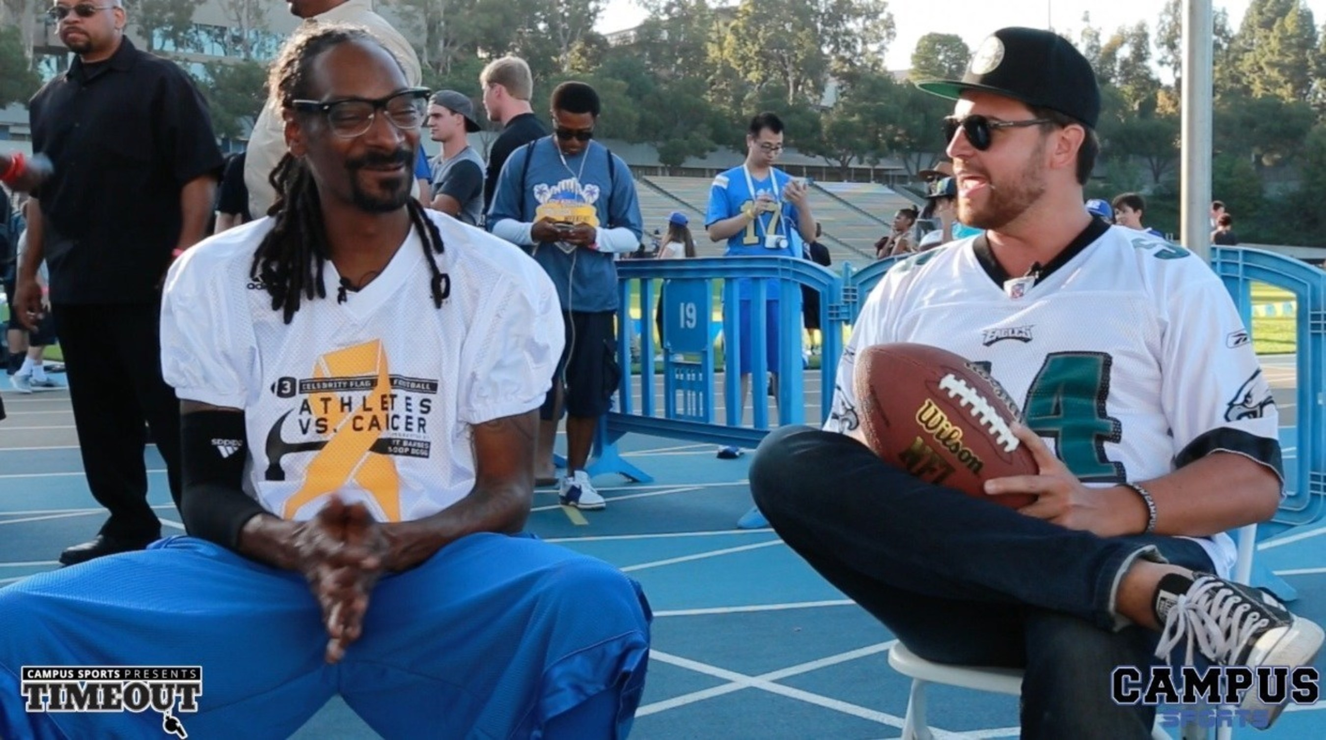 Snoop Dogg Interviews for CampusSports.net on His Son Quitting UCLA Football, and More