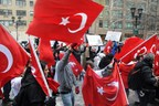Protestors state that they are against the Gulen Movement's shadow government.