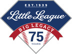 75th Anniversary of Little League Baseball logo. (PRNewsFoto/Little League Baseball(R)) (PRNewsFoto/LITTLE LEAGUE BASEBALL(R))