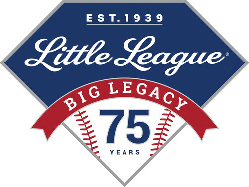 75th Anniversary of Little League Baseball logo. (PRNewsFoto/Little League Baseball(R)) (PRNewsFoto/LITTLE ...