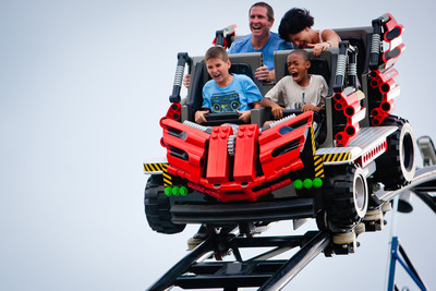 "LEGOLAND(R) Florida, Central Florida's newest theme park, is helping families deal with Veloxrotaphobia, or fear of roller coasters, by arming parents with ""Roller Coaster Readiness"" tips.  (PRNewsFoto/LEGOLAND Florida)"