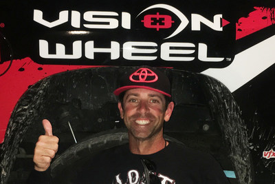 Pro Angler Mike Iaconelli teams up with Vision Wheel.