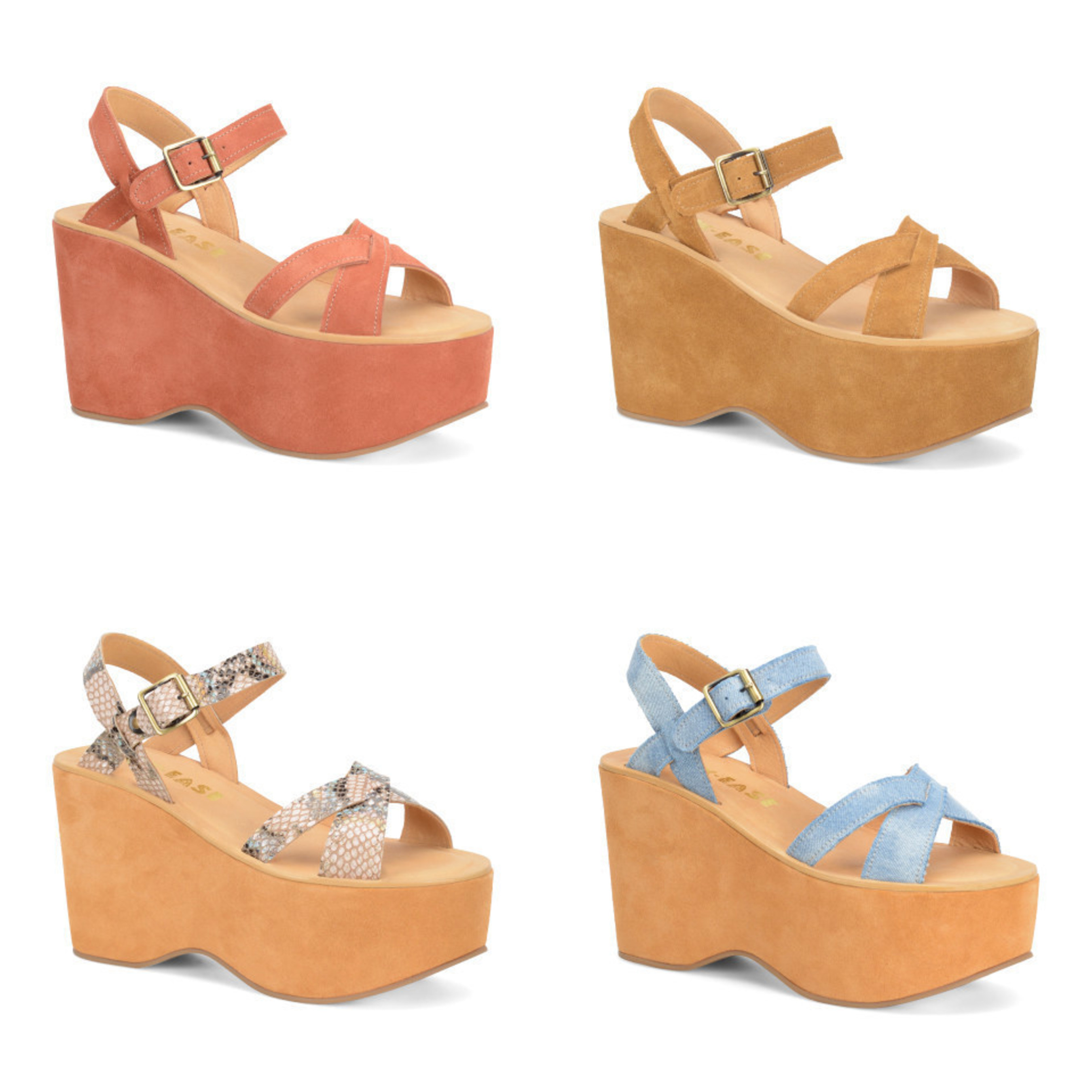 e05a0c9eb46 Kork-Ease X Free People Heights Platform in rust suede