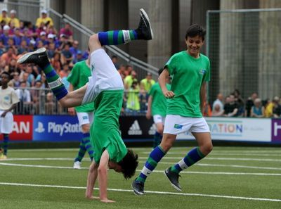 FC RAPID IS THE WINNER OF THE INTERNATIONAL FOOTBALL FOR FRIENDSHIP STREET SOCCER TOURNAMENT (PRNewsFoto/FOOTBALL FOR FRIENDSHIP)