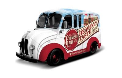 Promised Land Heavenly Taste Tour Vintage Milk Truck