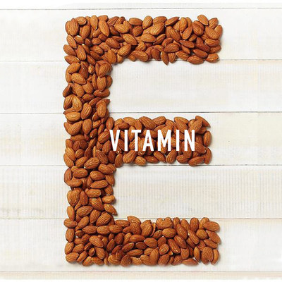 Almonds are an excellent source of Vitamin E.