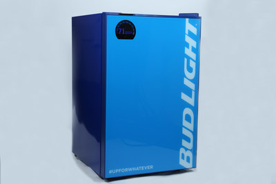 Bud Light introduces the Bud-E Fridge, an innovative smart home beer fridge that provides real time updates to ensure consumers never run out of Bud Light