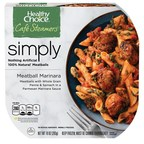 Healthy Choice Simply Cafe Steamers are made with 100% natural protein and no artificial ingredients.