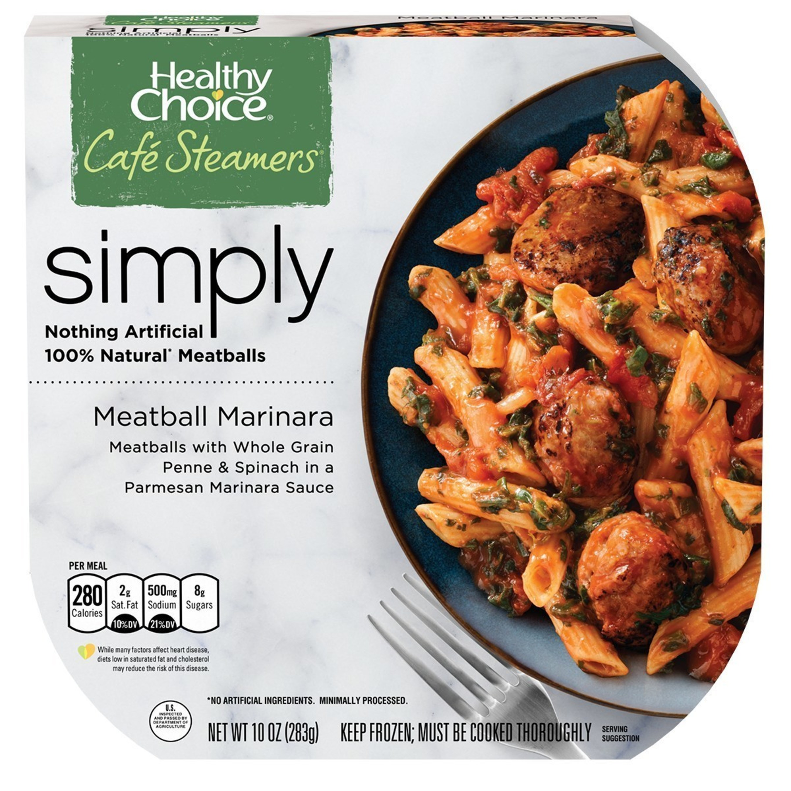 Healthy Choice Steams-up the Frozen