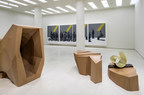 Installation view: Wang Jianwei: Time Temple, Solomon R. Guggenheim Museum, New York, October 31, 2014–February 16, 2015. Wang Jianwei: Time Temple is made possible by The Robert H. N. Ho Family Foundation. All works by Wang Jianwei (C) 2014 Wang Jianwei, used by permission. Photo: David Heald (C) Solomon R. Guggenheim Museum, New York.