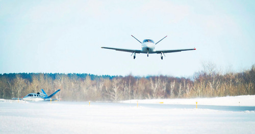 The Cirrus Vision SF50 Jet 'C-Zero' (C0) completes a successful first flight as part of the FFA ...