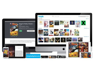 hoopla digital Adds eBooks and Comics to Over 300,000 Video, Music and Audiobook Titles