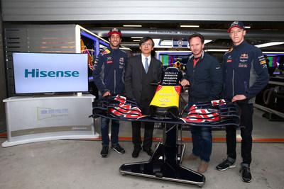 Hisense Partners with Infiniti Red Bull Racing Formula One Team