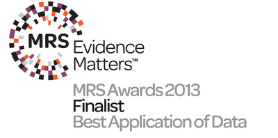 MRS Awards finalist for 'Best Application of Data.'  (PRNewsFoto/ORC International)