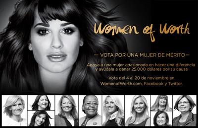 L'Oreal Paris Women of Worth Honors 10 Inspiring Women.  (PRNewsFoto/L'Oreal Paris)