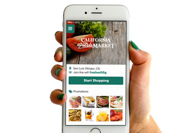 California Fresh Market's new app lets shoppers skip the checkout line!