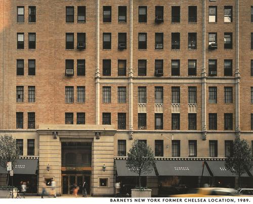Barneys New York Former Chelsea Location, 1989. (PRNewsFoto/Barneys New York) (PRNewsFoto/BARNEYS NEW YORK)