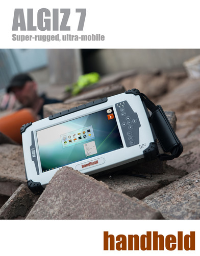 Twice the Performance: Handheld Releases a New Version of its ALGIZ 7 Outdoor-Rugged Tablet. (PRNewsFoto/Handheld Group) (PRNewsFoto/HANDHELD GROUP)